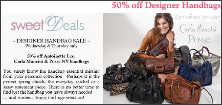 50% Off Handbags at Couture Candy