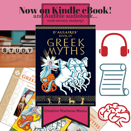 D'Aulaires Greek Myths now available as an eBook!