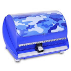 DiscGear Selector 50FX 50-Disc CD Case w/ Title Sheet - Blue