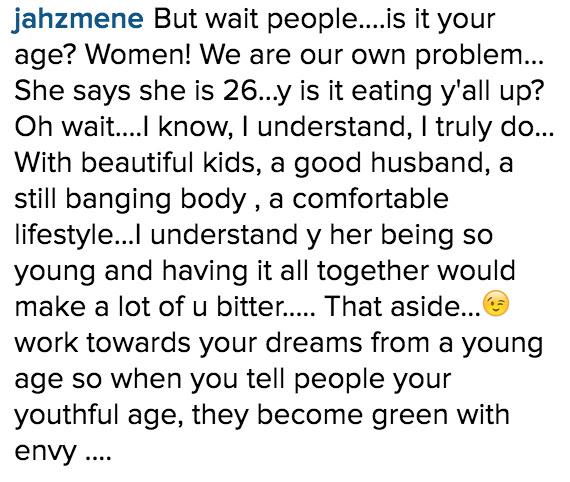 Adaeze Yobo is 26 on IG_Instagram Comments_2