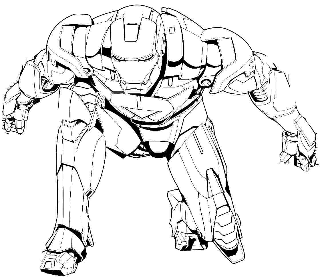 Muscle Man Coloring Pages At Getdrawingscom Free For Personal Use