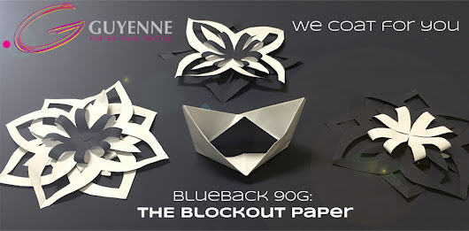 blockout paper for manufacturing self-adhesive labels.