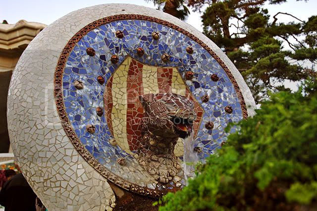Gaudi Animals: Snakes in Park Guell