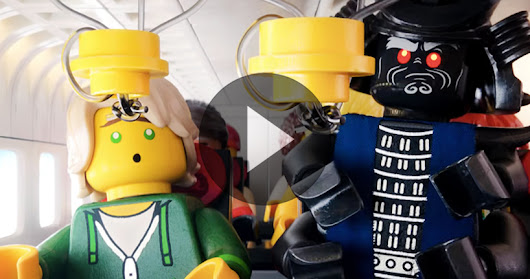 LEGOs star in turkish airlines' new in-flight safety video