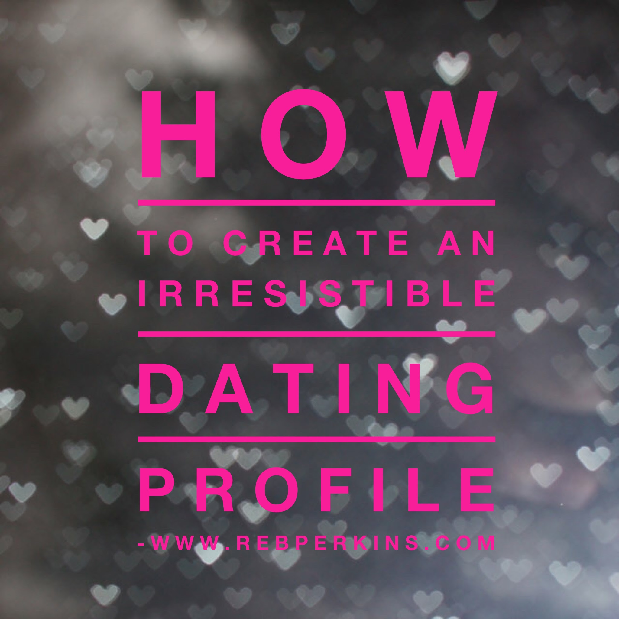 online dating profile huffington post