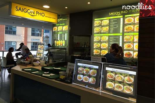 Saigon Pho Sussex Centre Food Court Chinatown Sydney | A Sydney food blog by Thang Ngo