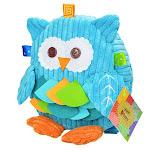 Toddler & Preschooler 3D Owl Backpack, Blue from Sozzy