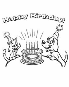 Happy Birthday Papa Coloring Pages at GetColorings.com ...