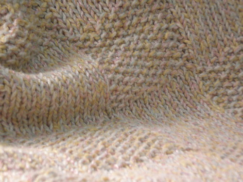 look at that seed stitch!