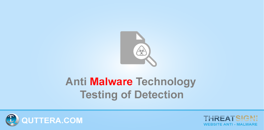 Testing Of Malware Detection · Quttera web security blog