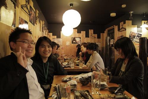 With Singaporean filmmaker Liao Jiekai