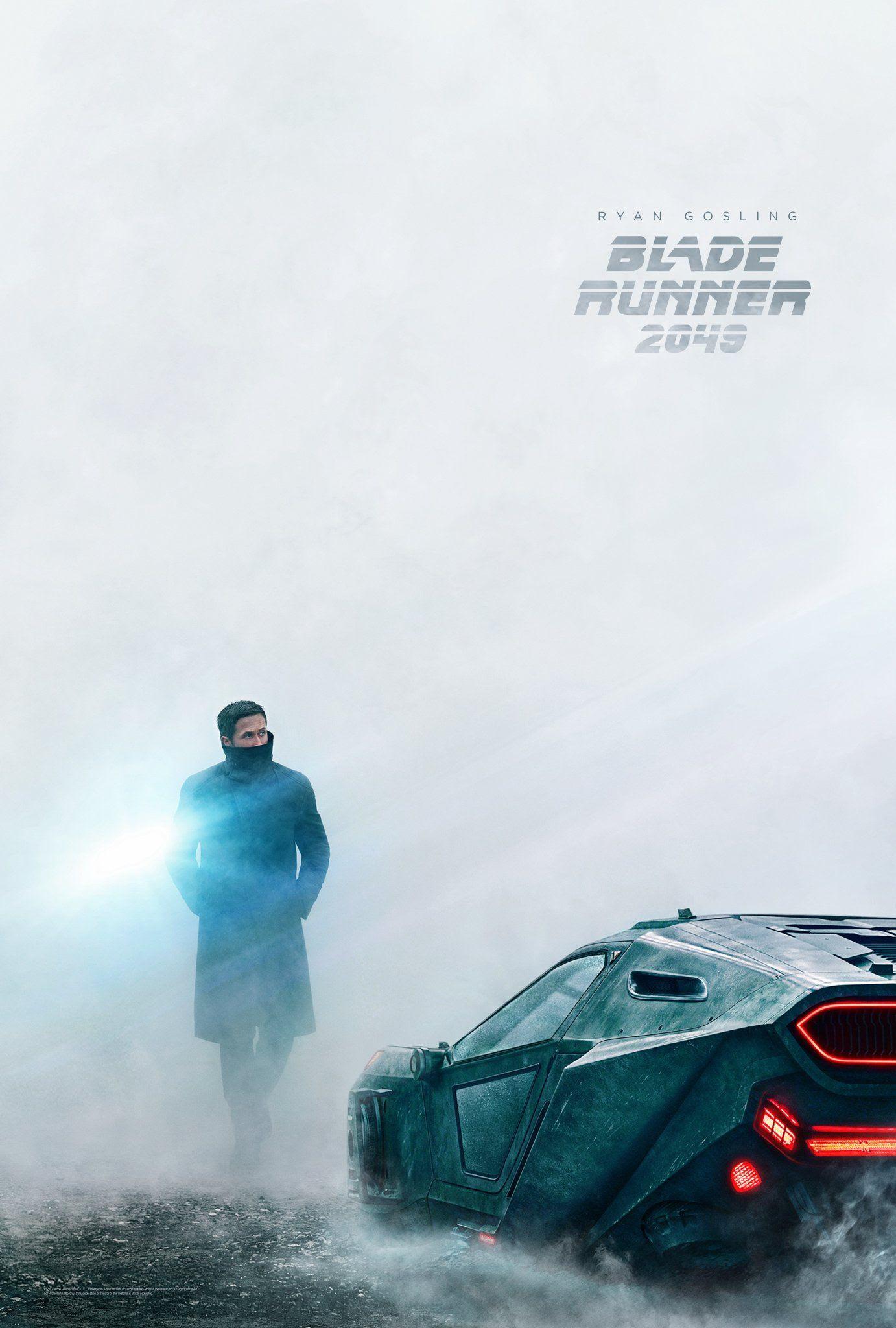 Risultati immagini per blade runner 2049 poster