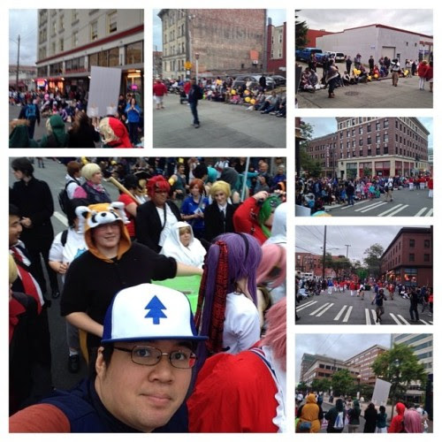 Day 30: Attended the Seattle Chinatown Seafair parade! #93daysofsummer #summer2014 #seattle #chinatown #seafair #parade