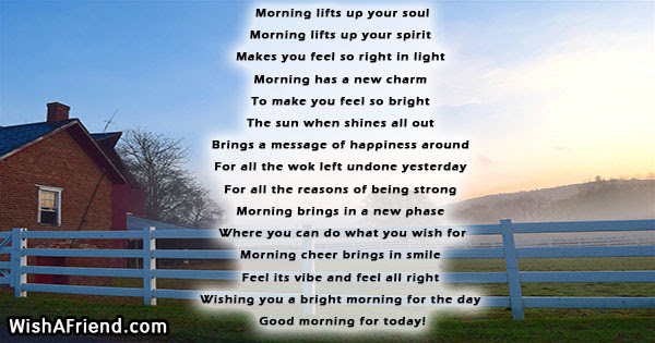 Good Morning Quote Morning Lifts Up Your Soul