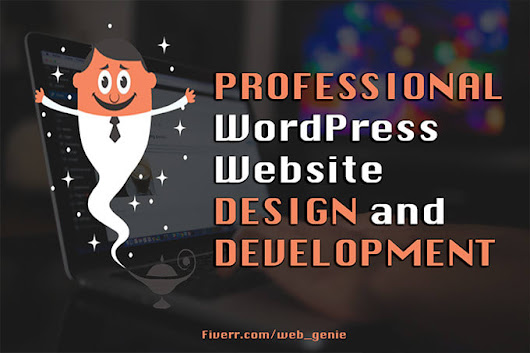 web_genie : I will develop, design a full responsive wordpress website for $40 on www.fiverr.com