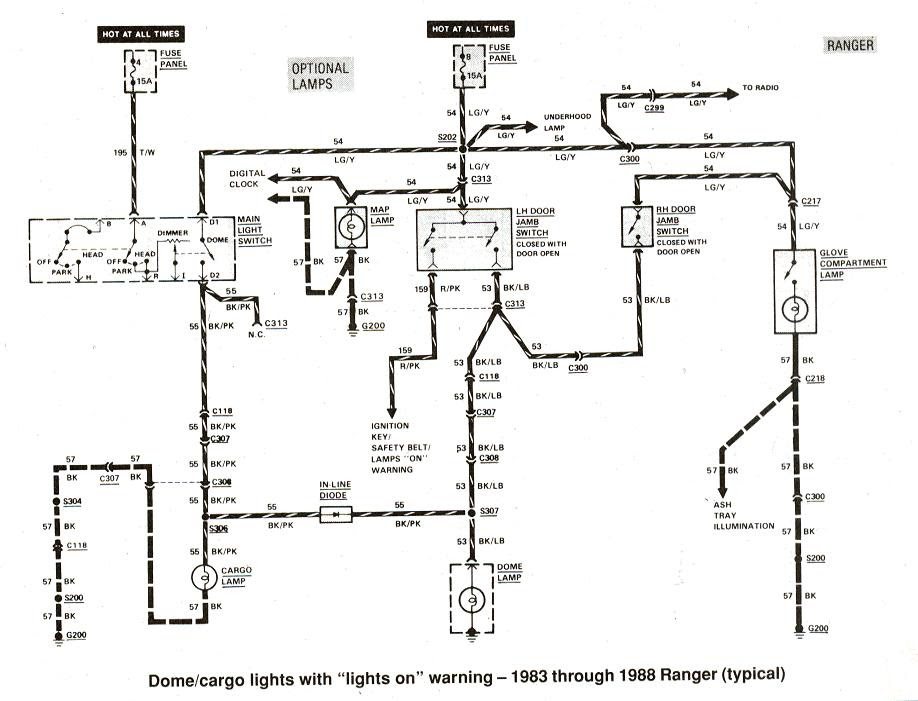1985 Ford Ranger Radio Wiring Diagram
