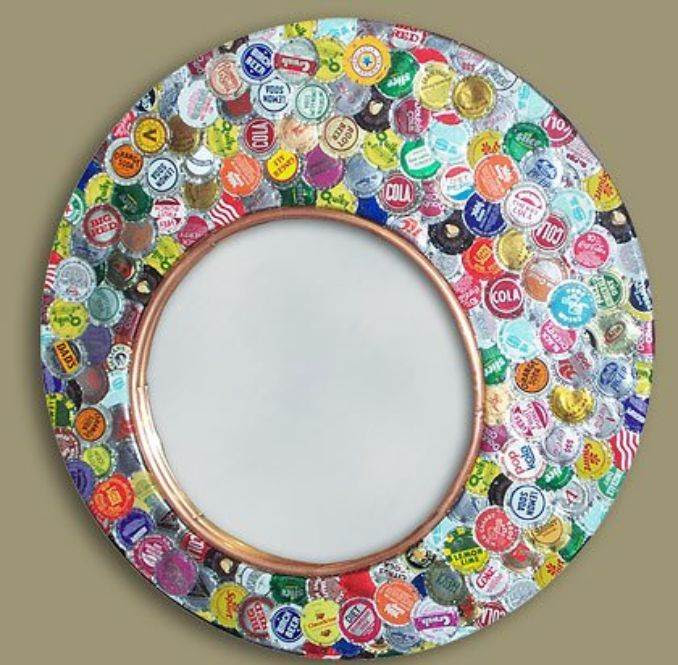 Creative Bottle Cap Craft Ideas DIY Recycle Projects 22