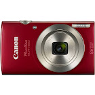Canon PowerShot ELPH 180 20.0 MP Compact Digital Camera - 720p - Red