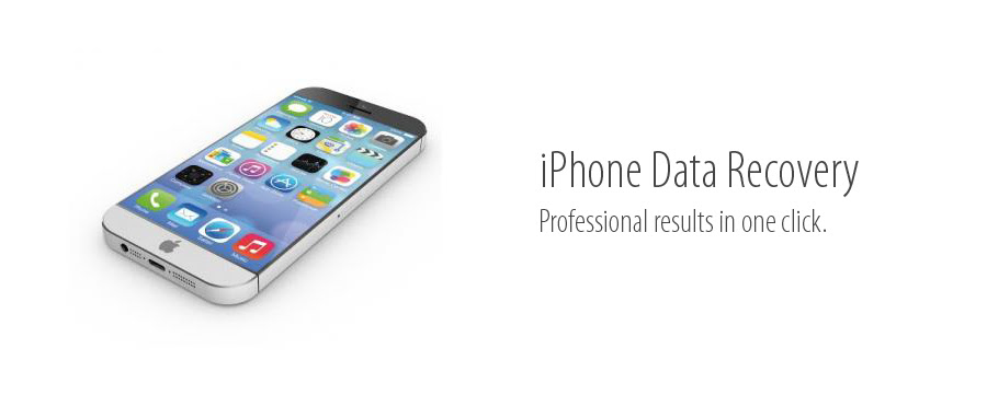 Recover any lost data from your iPhone  iPhone Data Recovery