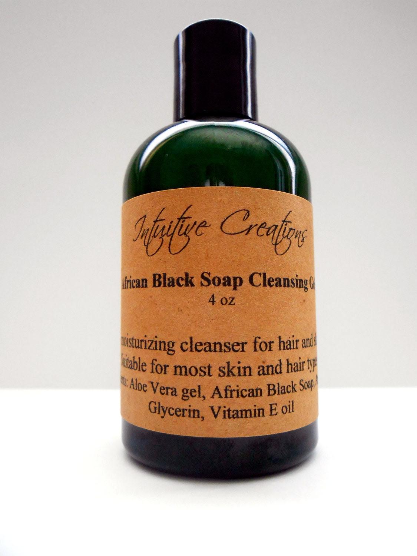 African Black Soap Cleansing Gel