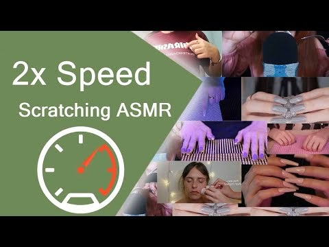 2x Speed Scratching asmr by all together - Help You Sleeping by triggers