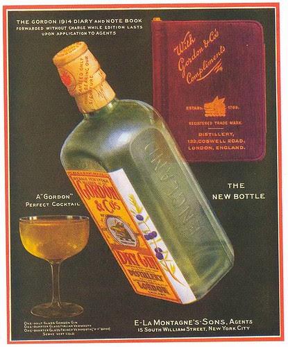 Gordon Gin ad, 1913