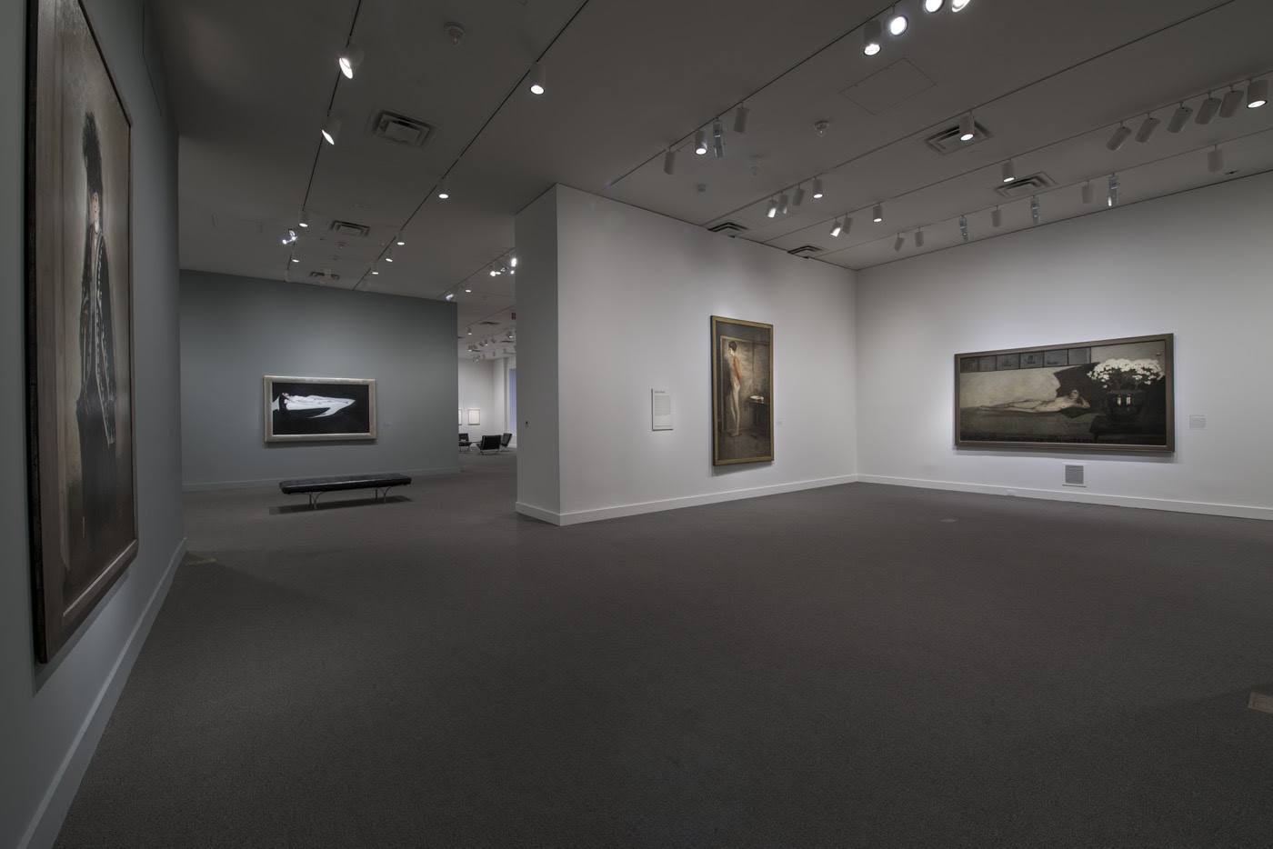 Installation view, 'The Art of Romaine Brooks' at the Smithsonian American Art Museum (image courtesy the Smithsonian American Art Museum) (click to enlarge)
