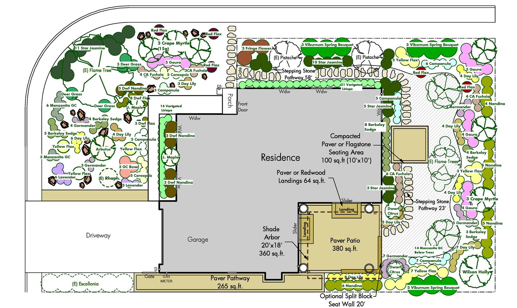 18+ Amazing Corner Lot Landscaping Inspirations - Landscape Ideas
