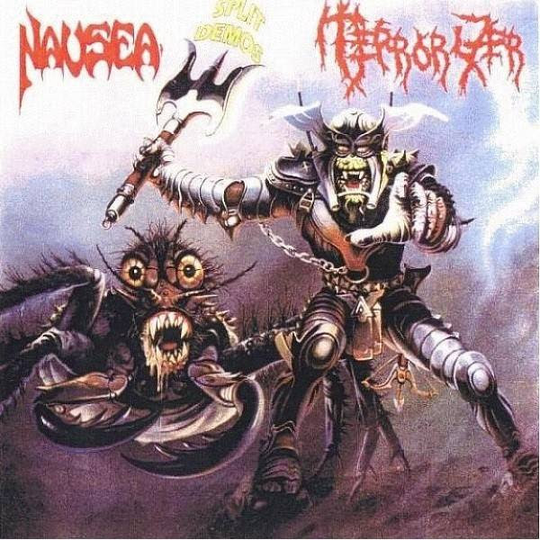 Terrorizer / Nausea - Split Demo Album Cover