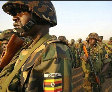 Ugandan People's Defense Forces contingent. The Ugandan government says it will incur the cost of its intervention in South Sudan. by Pan-African News Wire File Photos