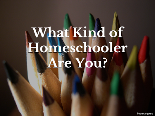 What Kind of Homeschooler Are You? – Eclectic Homeschooling