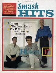 Smash Hits, September 1, 1983