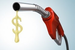 Preço da gasolina caiu