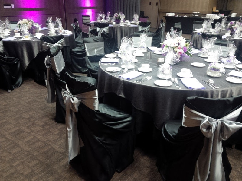 Black And Silver Decorations For Wedding
