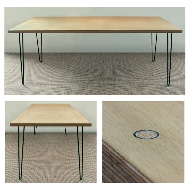 Table Top Plans Plywood / DIY Plywood Desk with Pipe Frame: Plans to Build Your Own ...