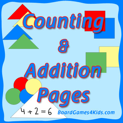 Free Counting and Addition Math Pages - Fun and Learning