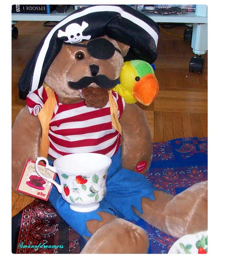 Pirate Johnny with a brownie