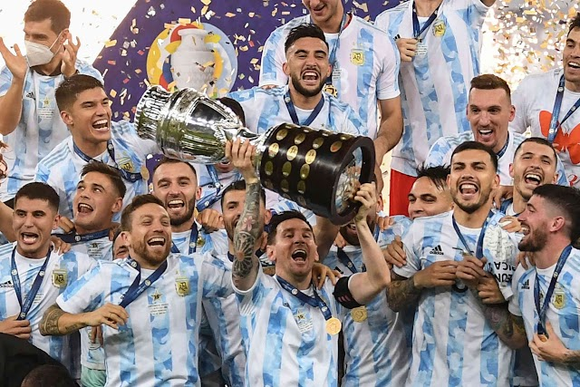 Argentina 2 years after Argentina in Copa America: Brazil lost 1-0