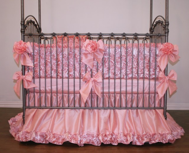 Rose Dior Crib Bedding - eclectic - baby bedding - new york - by ...