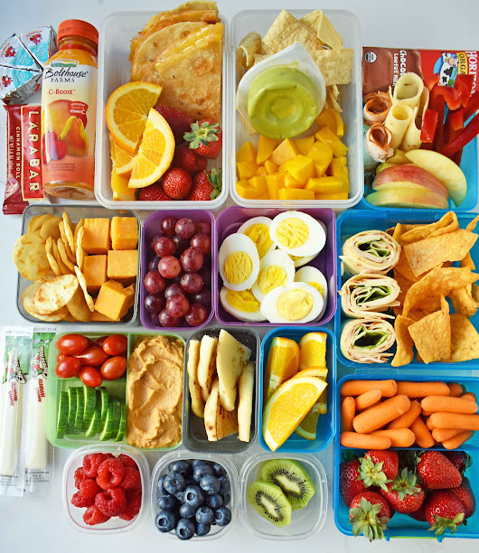 Back to School Kids Lunch Ideas – Modern Honey