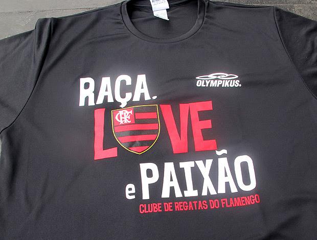 camisa em homenagem a Vagner Love (Foto: Thales Soares / Globoesporte.com)