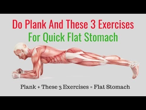 How to Get a Flat Stomach in a Month at Home