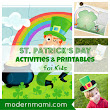 Free St. Patrick's Day Printables and Activities for Kids | modernmami™