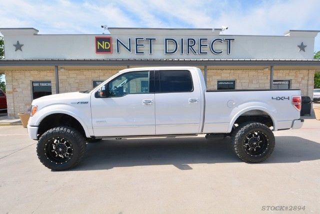 2012 Ford F 150 Platinum Supercrew Lifted 44 Truck For Sale