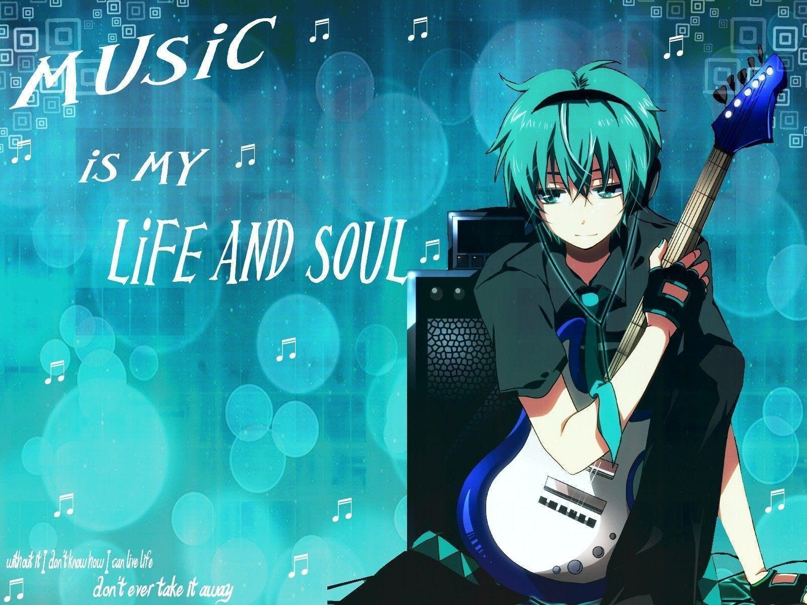 Anime Music Wallpapers - Wallpaper Cave