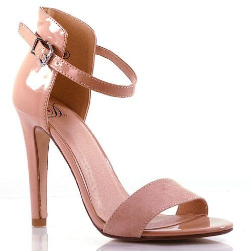 Stick Simple Buckle Mary Jane Dress Sandal Pump Stiletto Women Shoe: Shoes