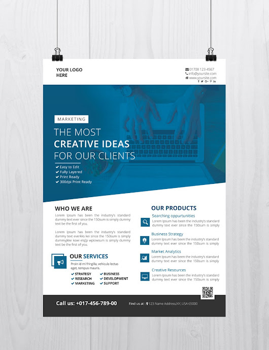 Creative Business - Download Free PSD Flyer Template - Stockpsd.net