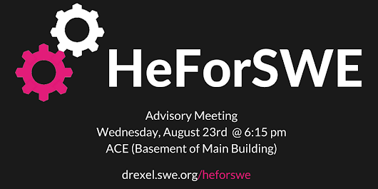HeForSWE - Kickoff Meeting/August 2017 Meeting