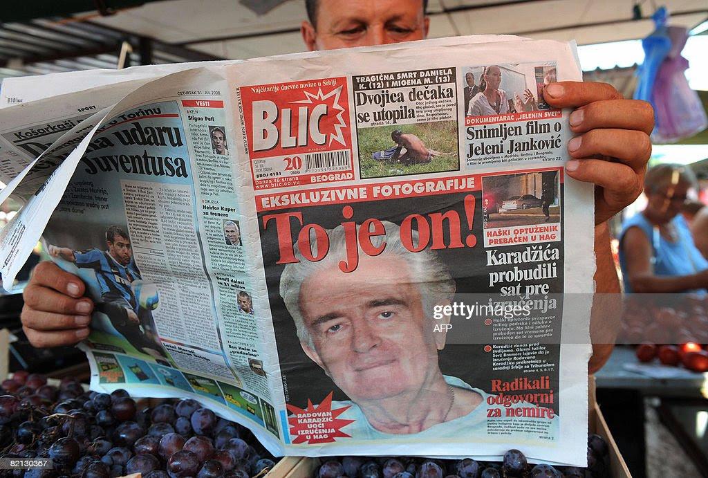 Αποτέλεσμα εικόνας για BLIC NEWSPAPER