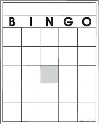 Top Notch Teacher Products® Blank Bingo Card | Staples®